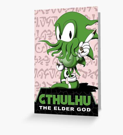 Cthulhu The Elder God Greeting Card