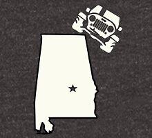 Alabama Outline Jeep Logo Unisex T-Shirt