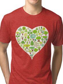 Love Trees Tri-blend T-Shirt