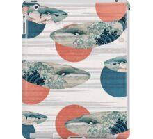 Whale and Polka Dots iPad Case/Skin