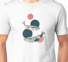 Whale and Polka Dots Unisex T-Shirt