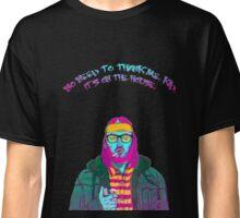 Hotline Miami Beard Art Classic T-Shirt