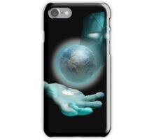 Big Man in the Space Sky iPhone Case/Skin
