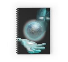 Big Man in the Space Sky Spiral Notebook