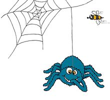 The spider and the fly by Sarah Trett