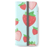 Strawberry Pattern iPhone Wallet/Case/Skin