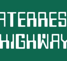 Extraterrestrial Highway, Nevada Road Sign Sticker