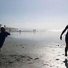 beach play (caffeine free) by Bruce  Dickson