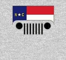 North Carolina Flag Jeep Logo Unisex T-Shirt