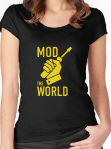 Mod The World Women's Fitted Scoop T-Shirt