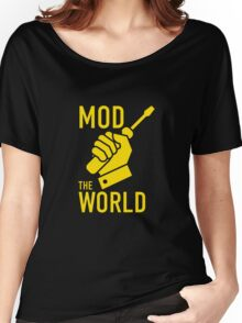Mod The World Women's Relaxed Fit T-Shirt