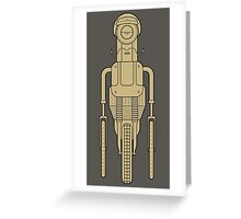 Hipsterbot Greeting Card