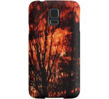 Fiery world turned upside-down  Samsung Galaxy Case/Skin