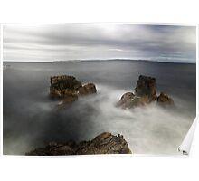 Ballycastle Sea Stack 1 Poster