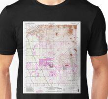 USGS TOPO Map Arizona AZ Buckhorn 310630 1956 24000 Unisex T-Shirt