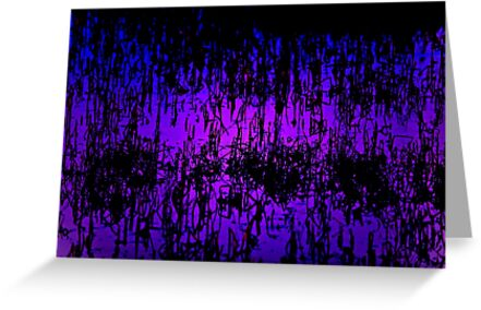 Reeds of abstract lilac by Owed To Nature