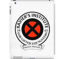 Xavier's Institute for Gifted Youngsters iPad Case/Skin
