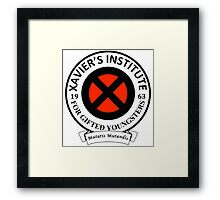 Xavier's Institute for Gifted Youngsters Framed Print
