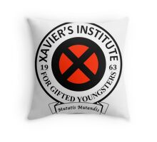 Xavier's Institute for Gifted Youngsters Throw Pillow