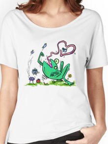 Froggy Banquet Of Love Women's Relaxed Fit T-Shirt