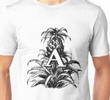 Plant Alphabet Letter A Unisex T-Shirt