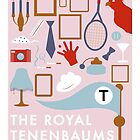 The Royal Tenenbaums by ashraae