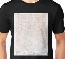 USGS TOPO Map Arizona AZ Red Picacho 313066 1964 24000 Unisex T-Shirt