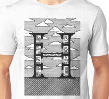 Letter H Architecture Section Alphabet Unisex T-Shirt