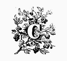 Plant Alphabet Letter C Unisex T-Shirt