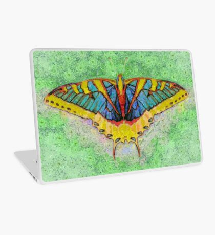 Butterfly Counts Moments Laptop Skin