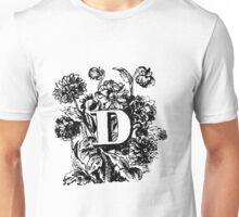Plant Alphabet Letter D Unisex T-Shirt