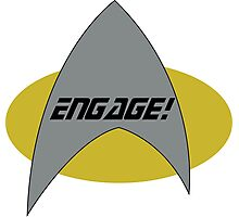 Engage! Photographic Print