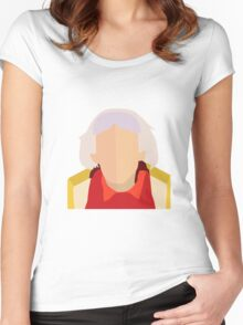 Doc Women's Fitted Scoop T-Shirt