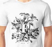 Plant Alphabet Letter F Unisex T-Shirt