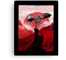 Guardian of the tower Canvas Print