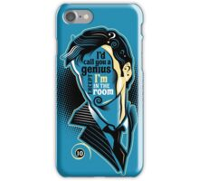 Who Says What - No. 10 iPhone Case/Skin