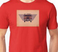 Blitz Firetruck, paper texture. Unisex T-Shirt
