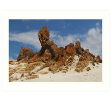 Sphinx of South Australia Art Print