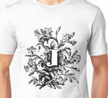 Plant Alphabet Letter J Unisex T-Shirt