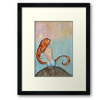 Mermaid Dreams Framed Print