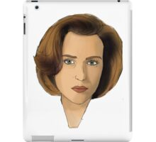 Agent Scully iPad Case/Skin