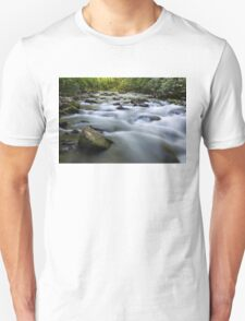 Oconaluftee River Rapids in the Great Smoky Mountain National Park Unisex T-Shirt