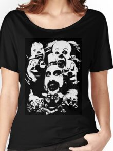 Horror Clown Icons Women's Relaxed Fit T-Shirt
