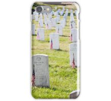 Arlington Cemetery iPhone Case/Skin