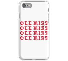 LIFE OF OLE MISS iPhone Case/Skin