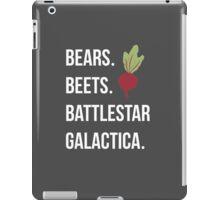 Bears Beets Battlestar Galactica - The Office iPad Case/Skin