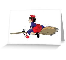 kiki's delivery service Greeting Card