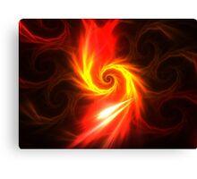 Solar Swirl Canvas Print