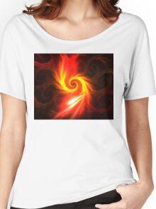 Solar Swirl Women's Relaxed Fit T-Shirt