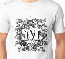 Plant Alphabet Letter M Unisex T-Shirt